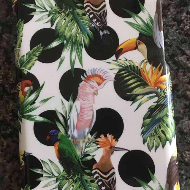 Loving my new phone case tropical birds  Thanks idealofsweden