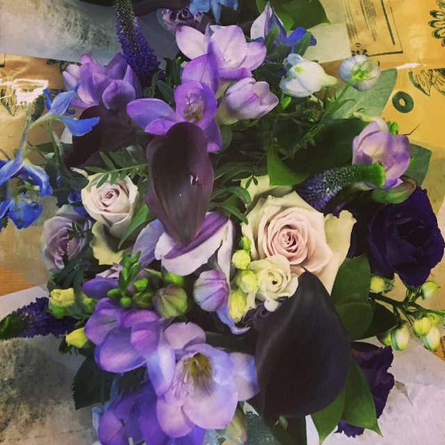 flowerlovers flowerinstagram flowerinspiration blueflowers lilacflowers purpleflowers greenroomflowers weddingfloristnorthampton northamptonshirewedding weddinghellip